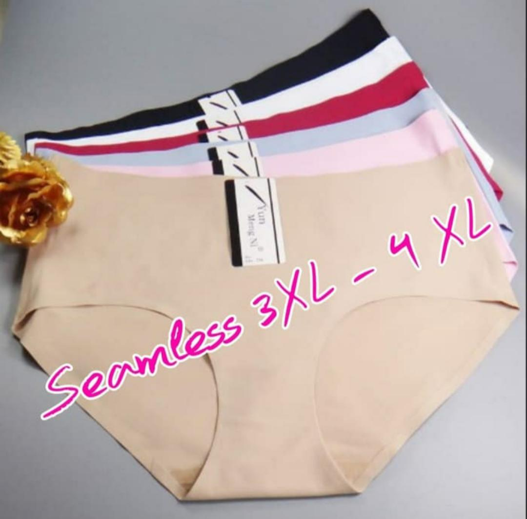 CD Wanita Seamless Jumbo 3XL 4 XL