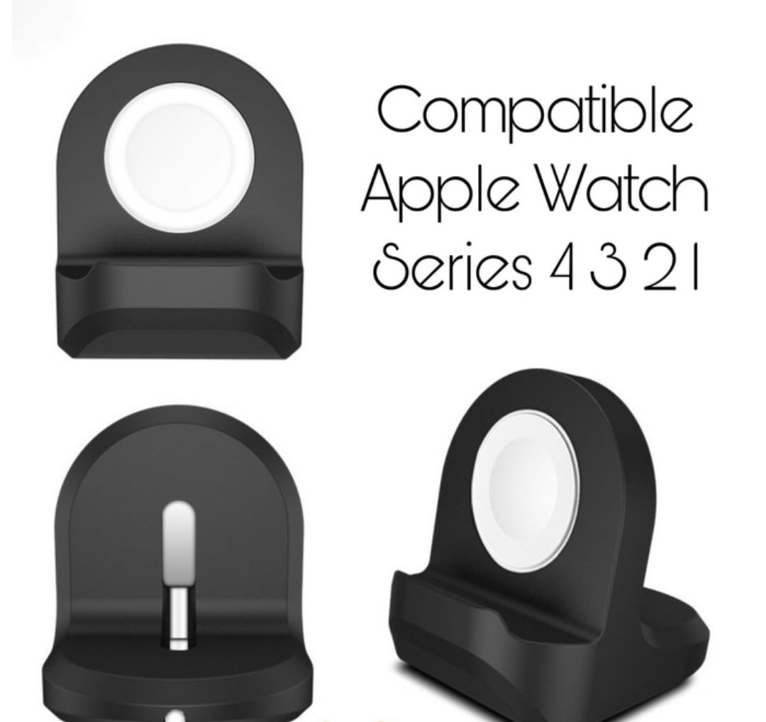 Apple Watch Silicone Charging Stand for Series 4 3 2 1 PREMIUM QUALITY