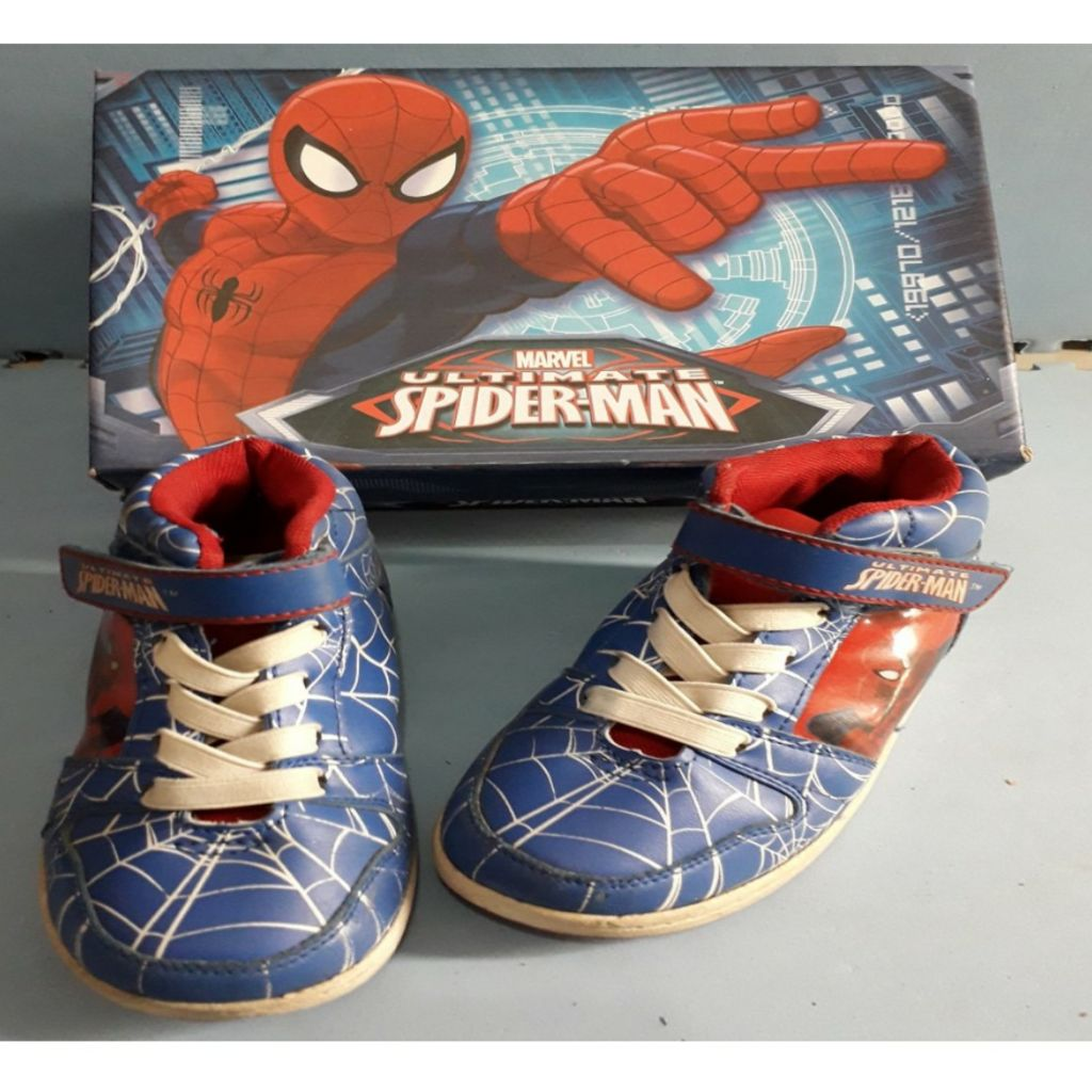 Marvel Ultimate Spiderman Original Sepatu Anak