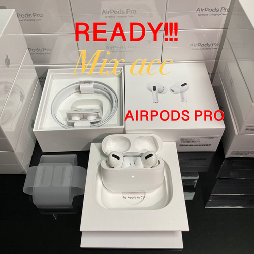 Apple AirPods PRO w/ WIRELESS CHARGING CASE MWP22 Airpod iPhone iPad