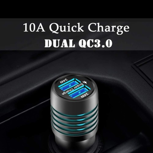 XF-001Huawei Car Charger Super Fast 48W QC3.0 QC4.0 QUICK CHARGE 10A - Hitam