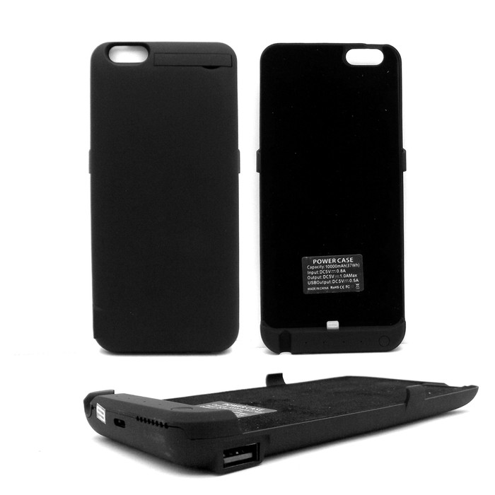 Powercase / Power case / Battery Case for iPhone 6 6s 10,000mA (AP)